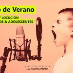 Curso de Verano: Doblaje y Locución para Niños y Adolescentes